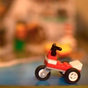 Santa's scooter