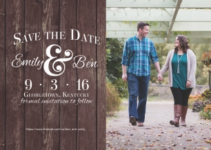 Save the Date | Emily & Ben