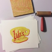 Luke's. Wood cut.